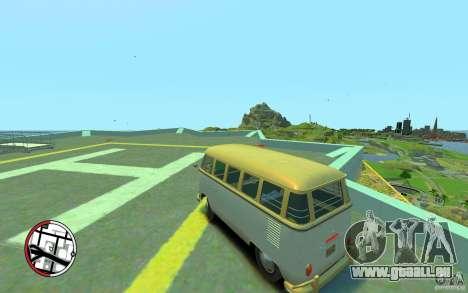 Volkswagen T1 Bus 1967 für GTA 4 linke Ansicht