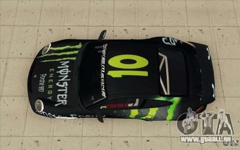 Porsche 997 Rally Edition pour GTA San Andreas vue de droite