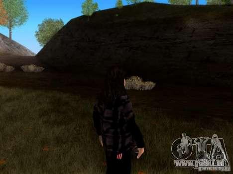 Skrillex pour GTA San Andreas deuxième écran