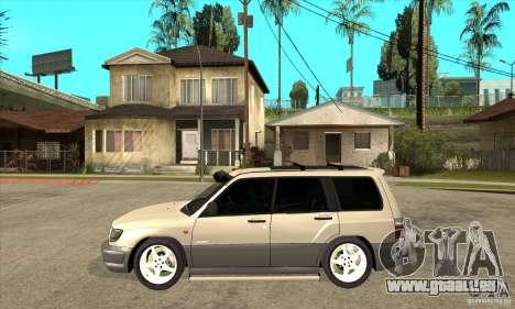 Subaru Forester 1997 année pour GTA San Andreas laissé vue