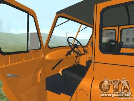 UAZ 31512 pour GTA San Andreas vue arrière