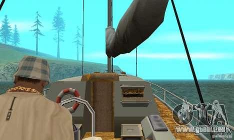 Marquis HD pour GTA San Andreas vue arrière