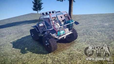Mud Bogger v1.0 pour GTA 4 Vue arrière de la gauche