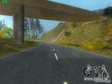 Roads Moscow für GTA San Andreas her Screenshot
