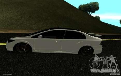 Honda Civic Type R für GTA San Andreas rechten Ansicht