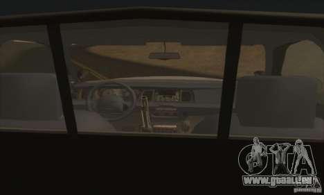 Ford Crown Victoria Illinois Police für GTA San Andreas zurück linke Ansicht