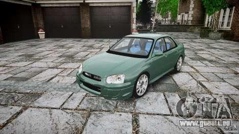 Subaru Impreza v2 für GTA 4
