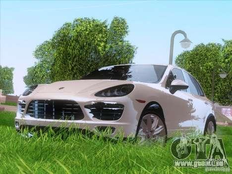 Porsche Cayenne Turbo 958 2011 V2.0 pour GTA San Andreas laissé vue