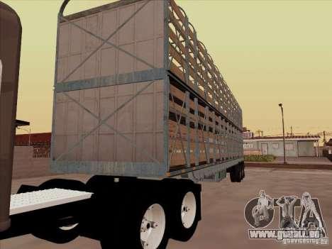 Remorque pour Mack RoadTrain pour GTA San Andreas