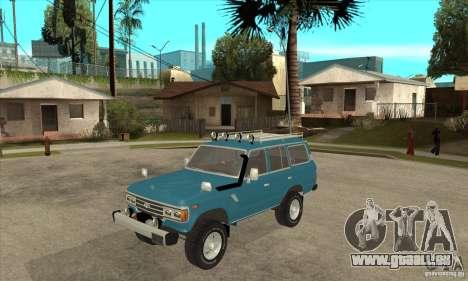 Toyota Land Cruiser pour GTA San Andreas