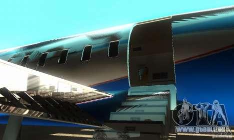 Blue Ghawar pour GTA San Andreas sur la vue arrière gauche