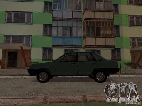 VAZ 21099 CR c. 2 pour GTA San Andreas laissé vue