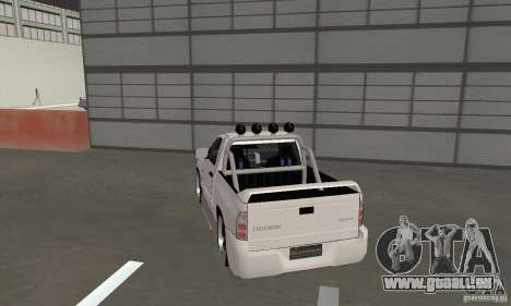 Dodge Ram SRT-10 Tuning pour GTA San Andreas laissé vue