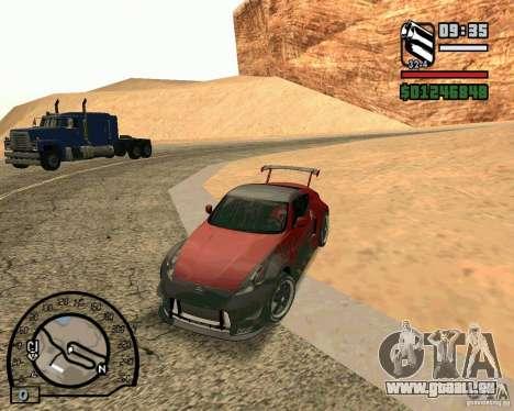 Nissan 370Z Undercover pour GTA San Andreas