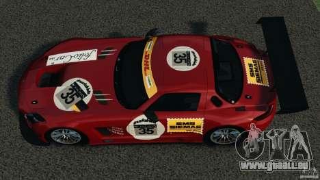 Mercedes-Benz SLS AMG GT3 2011 v1.0 für GTA 4 rechte Ansicht