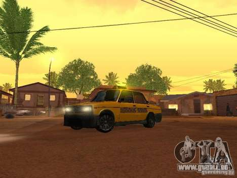 VAZ 2106 tuning Taxi pour GTA San Andreas