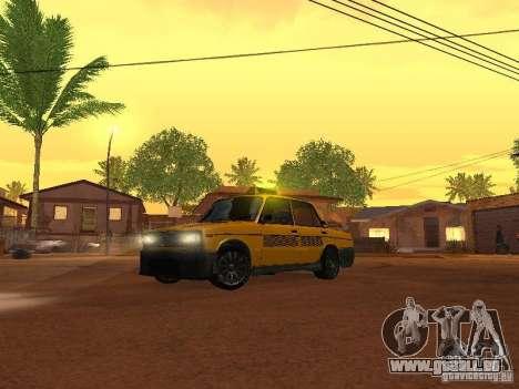VAZ 2106 tuning Taxi pour GTA San Andreas