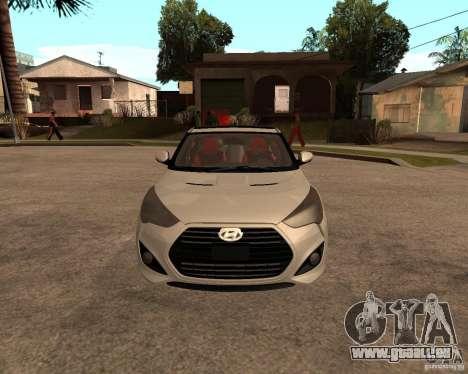 Hyundai Veloster 2012 für GTA San Andreas rechten Ansicht