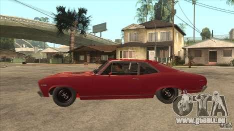 Chevrolet Nova SS für GTA San Andreas linke Ansicht