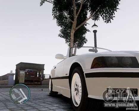 BMW M3 e36 1997 Cabriolet pour GTA 4 est un droit