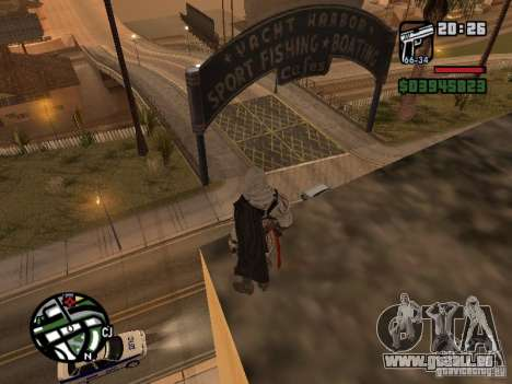 Ezio Auditores de Firenze für GTA San Andreas zweiten Screenshot