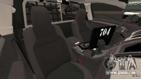 Ford Taurus 2010 Atlanta Police [ELS] pour GTA 4 est une vue de l'intérieur
