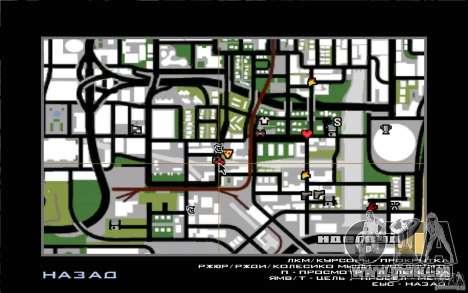 west coast coustoms pour GTA San Andreas troisième écran