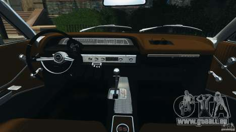Chevrolet Impala SS 1964 pour GTA 4 Vue arrière