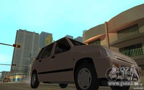 Daewoo Tico SX für GTA San Andreas Seitenansicht