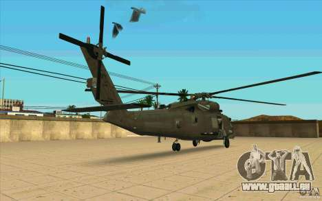 New Raindance für GTA San Andreas rechten Ansicht