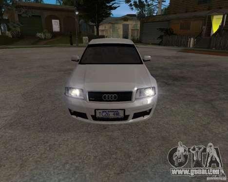 Audi RS6 (A6) für GTA San Andreas