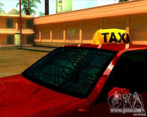 Pare-brise et nouveaux phares pour GTA San Andreas deuxième écran