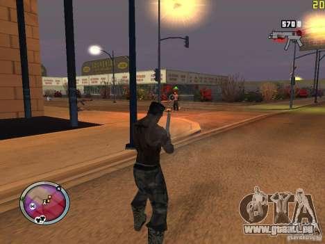 Neue GANGSTER-zone für GTA San Andreas elften Screenshot
