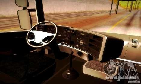 Scania R620 Emercom Romanow für GTA San Andreas Rückansicht