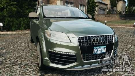 Audi Q7 V12 TDI v1.1 pour GTA 4