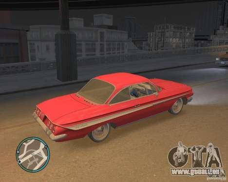 Chevrolet Impala 1961 für GTA 4 hinten links Ansicht