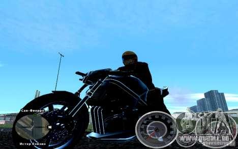 Skript Chevrolet Camaro Spedometr für GTA San Andreas dritten Screenshot