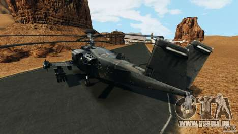 KA-50 Black Shark Modified für GTA 4 hinten links Ansicht