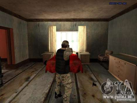 Army Soldier Skin für GTA San Andreas zweiten Screenshot