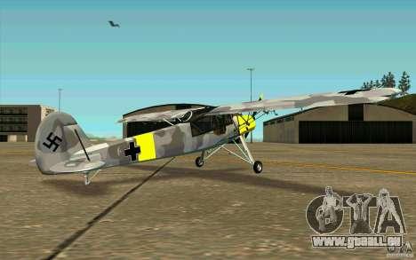 Fiesler Storch für GTA San Andreas rechten Ansicht