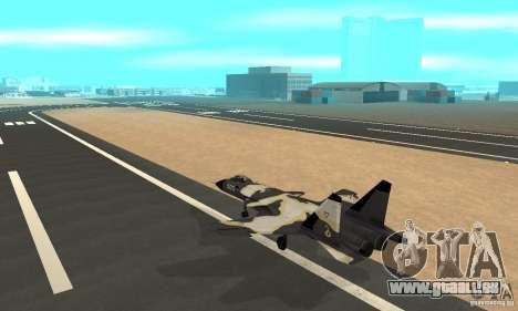 Su-47 « berkut » Cammo pour GTA San Andreas