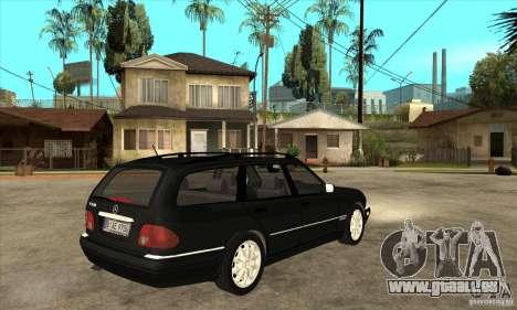 Mercedes-Benz W210 E320 1997 pour GTA San Andreas vue de droite
