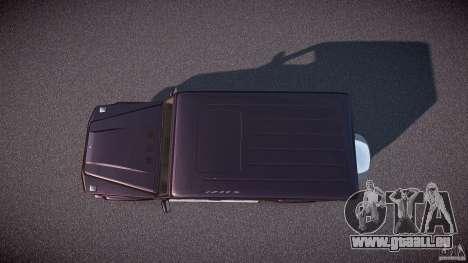 Mercedes Benz G500 (W463) 2008 pour GTA 4 est un droit