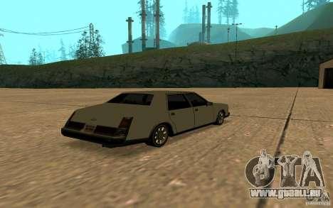 FBI Washington für GTA San Andreas Rückansicht