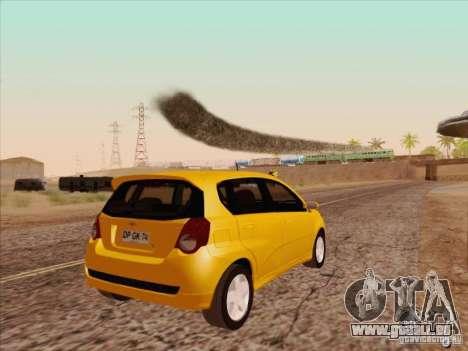 Chevrolet Aveo LT für GTA San Andreas rechten Ansicht