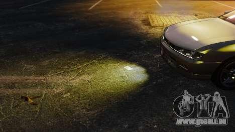 Gelbes licht lights für GTA 4