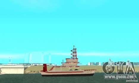 Vice City Ferryboat pour GTA San Andreas laissé vue