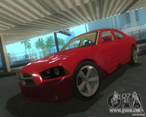 Dodge Charger 2011 für GTA San Andreas obere Ansicht