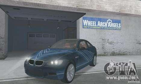 BMW M3 E92 Stock für GTA San Andreas
