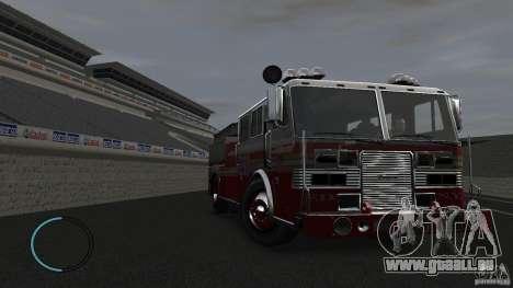 NEW Fire Truck pour GTA 4 est une vue de l'intérieur